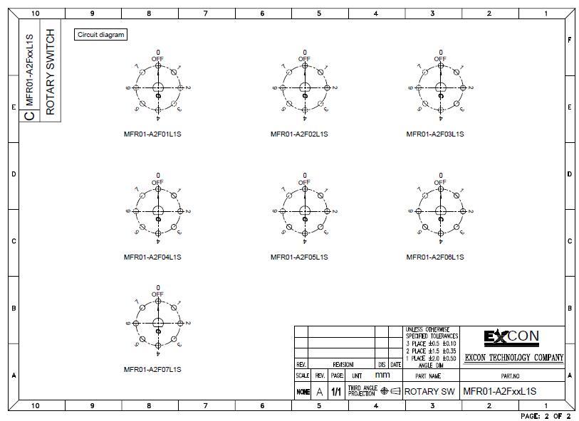 Mfr01 Rotary Switch